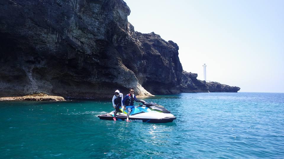 青の洞窟、真栄田岬~残波岬ツーリング