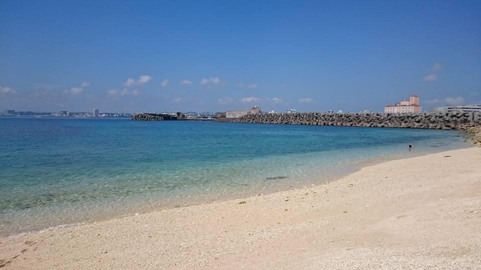 晴天のまりりんビーチ