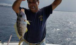 西海岸流し釣りで良型シルイユー(白ダイ)GET!