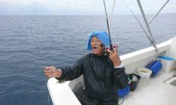 慶良間近海でサビキ釣り