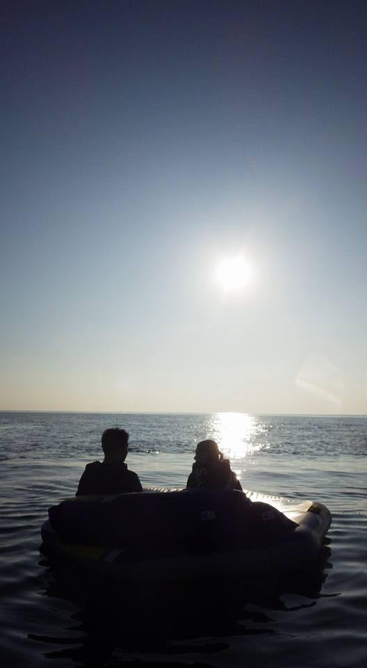 太陽と海、ロマンティックなマーブル