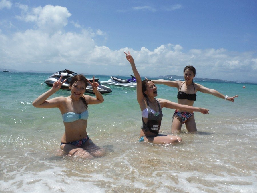 沖縄はもう海シーズンです