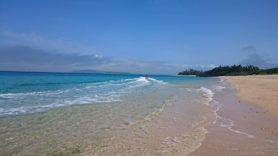 やっぱり晴れた海は最高